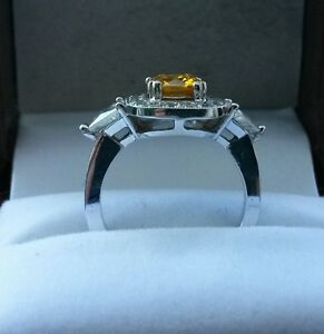 14K Custom White Gold Ring Oakville / Halton Region Toronto (GTA) image 2