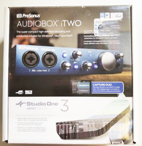 AudioBox iTwo Studio | PreSonus audio/MIDI interface