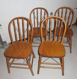 Antique Windsor Spindle Back Chairs