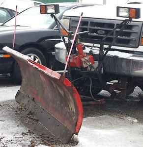 8 foot western snow plow