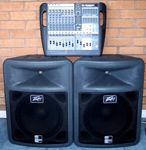 Peavey PA System (Powered 12 Chanels)
