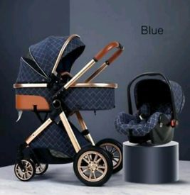 BRAND NEW 3 In 1 Pram/pushchair with Car Seat