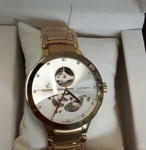 Rado  Centrix Automatic Diamonds Open Heart Rose & White n Gold
