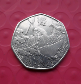 Canoeing - Olympics 50p coin