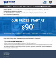 ►►►►MIRACLE MOVERS ►NOW in Vancouver ►►► FROM $90 p/hr ►WWW.MMOV
