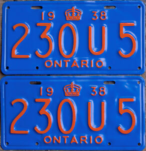 YOM Licence Plates For Your Old Auto - Ministry Guaranteed! Peterborough Peterborough Area image 4