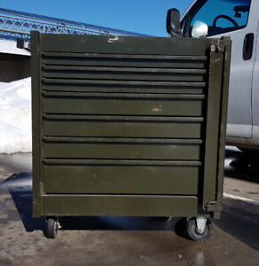 Authentic Mobile Heavy Duty Military Tool Cabinet