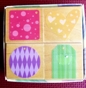 Ribber Stamps Playful tags