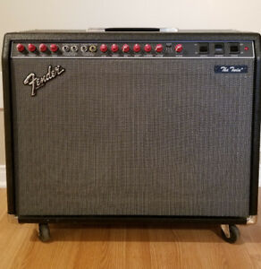 FENDER Twin Reverb, The twin Red Knob 100 watts / 25 watts