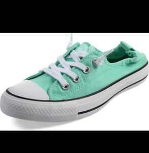 NEW numerous pairs of Converse all star size 10 womens