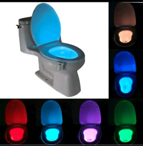 Toilet Nightlight LED Motion Activated  8 multicolour