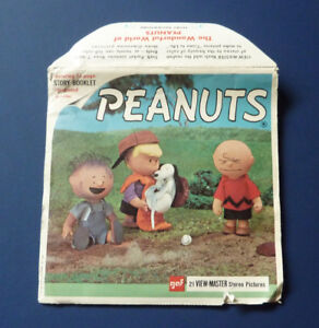 Peanuts 21 View-Master Stereo Pictures