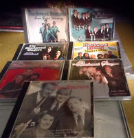 Blackwood Brothers Gospel and the Weavers all 7 cds