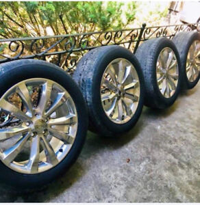 "19"" tyres excellent condition 10%used"
