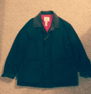 Black ORVIS Hunting Jacket