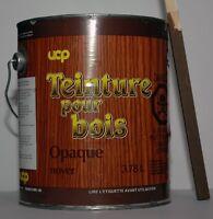 Teinture opaque pour le bois