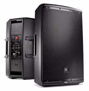 JBL EON610 Speakers new (2)