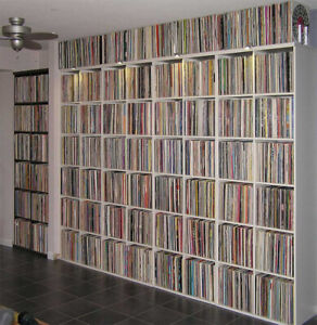 1000 HOUSE/BREAKS/DOWNTEMPO/TRANCE/TECHNO VINYL RECORDS!!
