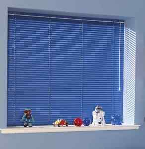 Blue colored Blinds (curtains)