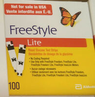 Blood glucose test strips (20×100) by $40 or 5/one