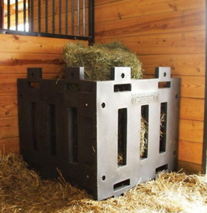 Poly hay feeder panels