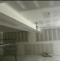 Drywall taping/mudding/plastering/stucco removal/sanding