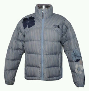 North Face Floral Special Edition Nuptse Jacket 700-Down Puffer