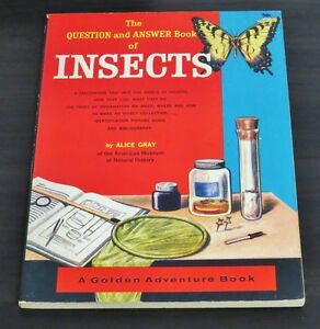 The Question and Answer Book of Insects by Alice Gray 1963 (Pap