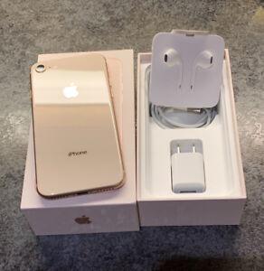 iPhone 8 (64gb) Gold (Apple Care+)
