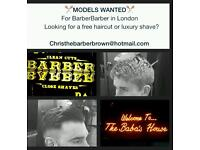 Gents Required For FREE Complimentary Haircut