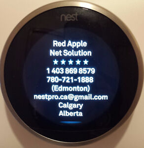 Ad: Nest Thermostat and Installation