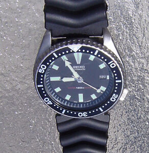 Vintage 7002-7000 Scuba Diver's Watch for Men
