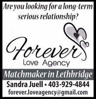 Looking for a serious long-term relationship?