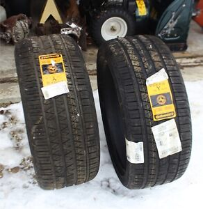 Two brand new continental tires