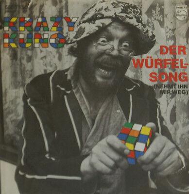 """Krazy Kurt - The Cube Song - ACH gottchen, Said Lottchen 7 """" Singles (H134)"""