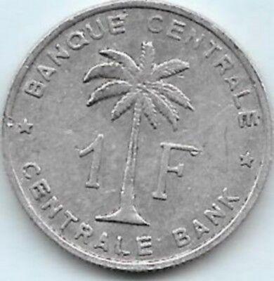 1 Franc Congo-Belge 1960