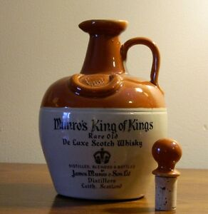 Munro's King of Kings (Ceramic Jug) - 1960s Kingston Kingston Area image 1