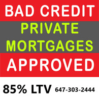 DIRECT PRIVATE LENDER- 1ST AND 2ND MORTGAGE - LOW FEES
