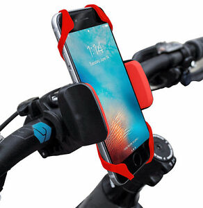 Universal Phone Mount for Motobikes/bicycles - fits ALL phones