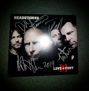 Headstones Signed CD