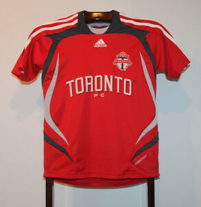 ADIDAS 2007 TORONTO FC HOME SOCCER JERSEY SIZE YOUTH SMALL
