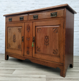 Edwardian Sideboard (DELIVERY AVAILABLE)