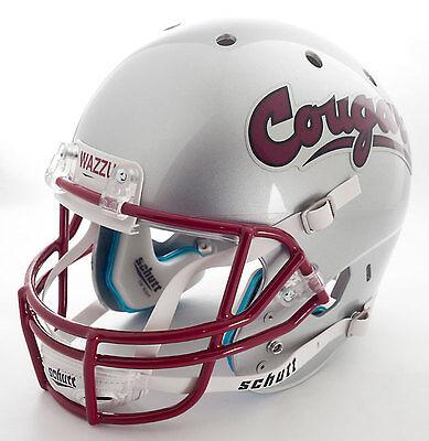 Washington Cougars Football (WASHINGTON STATE COUGARS Schutt AiR XP REPLICA Football Helmet WAZZU)