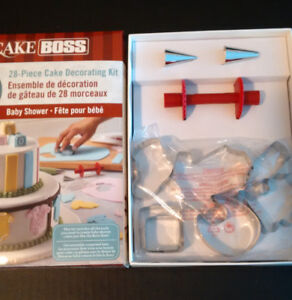 Cake Boss - 28pce Baby Shower Set **NEW**