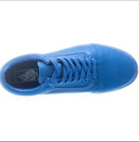 vans old stool mono blues shoes