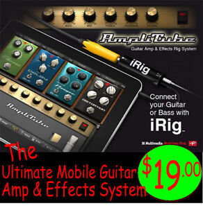 iRig Guitar Interface - Mobility for Apple Devices