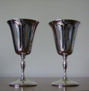 Vintage Silver Plate Wine Glasses (1970s) Kingston Kingston Area image 2