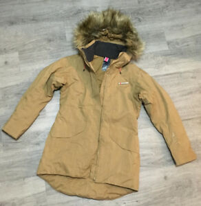 Women's Small Helly Hansen winter jacket/parka with faux fur
