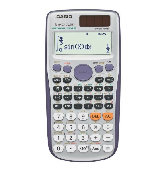 sealed casio fx 991 za plus scientific calculator for sale
