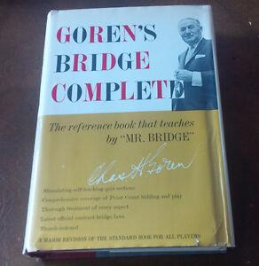 Goren's Bridge Complete